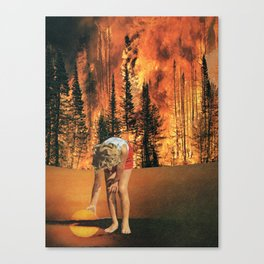 update... Canvas Print
