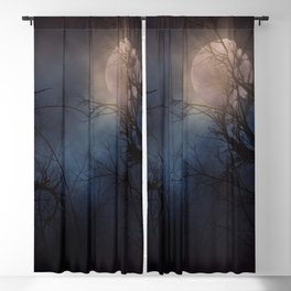 Haunted Forest Blackout Curtain