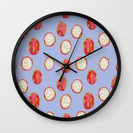 Dragonfruit Bliss Wall Clock