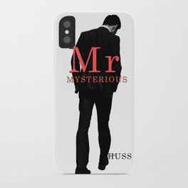 Mr. Mysterious by JA Huss iPhone Case