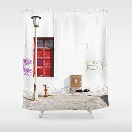 MYKONOS 03 Shower Curtain