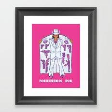 Sales Associate Framed Art Print
