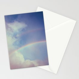 Dreamy Double Rainbow Stationery Cards