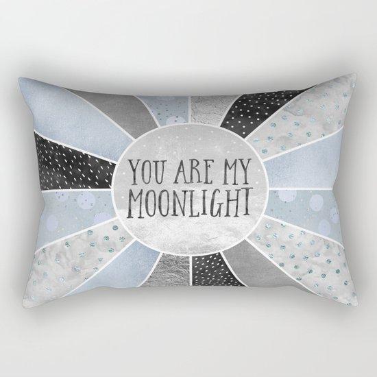You are my moonlight Rectangular Pillow