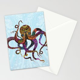 Electric Octopus Stationery Cards