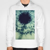 dandelion Hoodies featuring dandelion by Ingrid Beddoes