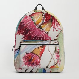 Plant Nature Flowers Foliage Backpack