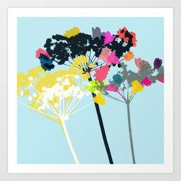 cow parsley 2 Art Print