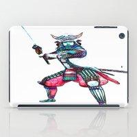 samurai iPad Cases featuring Samurai by arnedayan