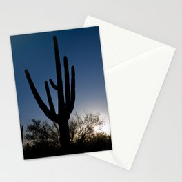 Sunset Cacti 3 Stationery Cards