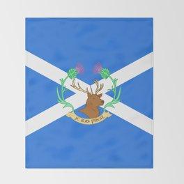 Clan Fraser Throw Blanket