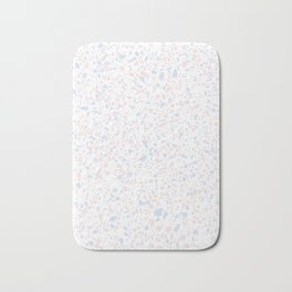 'Speckle Party' Lilac + Pink Dots Speckle Terrazzo Pattern Bath Mat