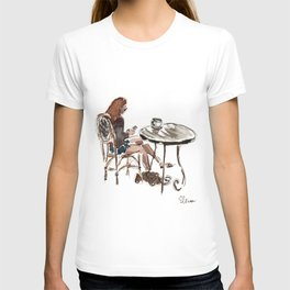 Coffee in Rice Village T-shirt