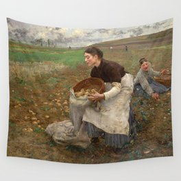 October by Jules Bastien-LePage Wall Tapestry