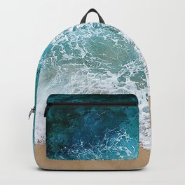 Ocean Waves I Backpack