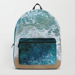 Ocean Waves I Backpack