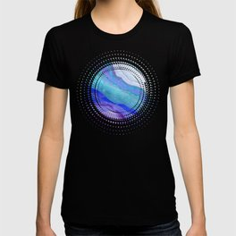 AGATE Inspired Watercolor Abstract 07 T-shirt
