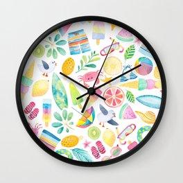 Summer Extravaganza Wall Clock