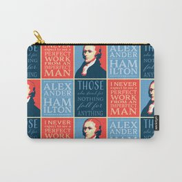 Alexander Hamilton Quotes Carry-All Pouch