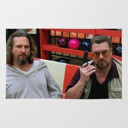 Jeff Bridges and John Goodman @ The Big Lebowski Rug