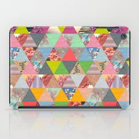 spring iPad Cases featuring Lost in ▲ by Bianca Green