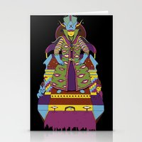wizard Stationery Cards featuring Wizard by Samuel Bell