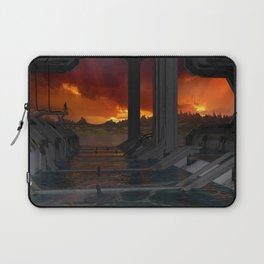 Drevos - Sci Fi - Sunset - Science Fiction - ZG 3D Laptop Sleeve