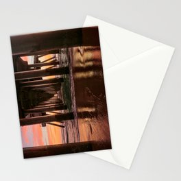 HB Sunsets  1/29/16  ~  Sunset At The Huntington Beach Pier Stationery Cards