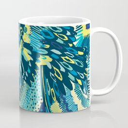 Blue Miami Coffee Mug