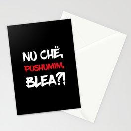 Make a noize, men! Stationery Cards