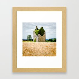 Irish Ruin Framed Art Print