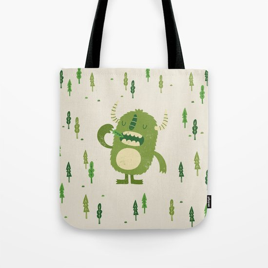 the tree muncher Tote Bag