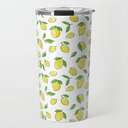 Lemon Leaf Travel Mug
