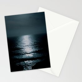 Black water  Stationery Cards