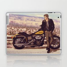 Demon on a Harley Laptop & iPad Skin