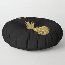 Stay Golden Precious Tropical Pineapple Floor Pillow