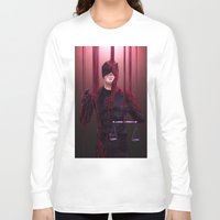 daredevil Long Sleeve T-shirts featuring Daredevil/Salvator Lex by Krusca