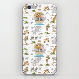 Noahs Ark Animals iPhone Skin