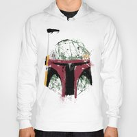 boba Hoodies featuring Boba by Purple Cactus