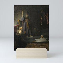 The Raising of Lazarus Mini Art Print