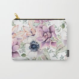 Oh my Succulents Carry-All Pouch
