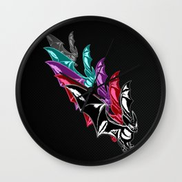 Bat Attack! RMX Wall Clock