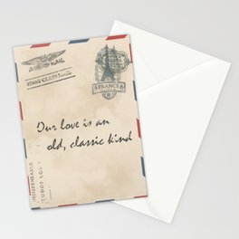 old love letter Stationery Cards