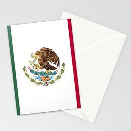 Mexico flag emblem Stationery Cards