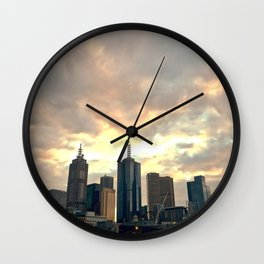 Majestic Imposing Melbourne Wall Clock