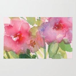Windsor Red Roses Rug