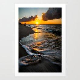 Boracay Sunset Art Print
