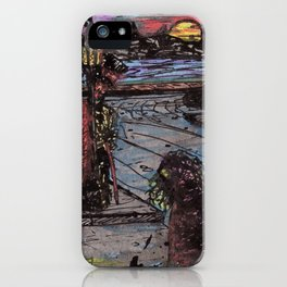 Death Wore Red iPhone Case