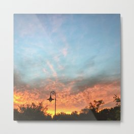 Orange, Like the Sunset Metal Print
