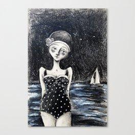 Midnight Tides Canvas Print